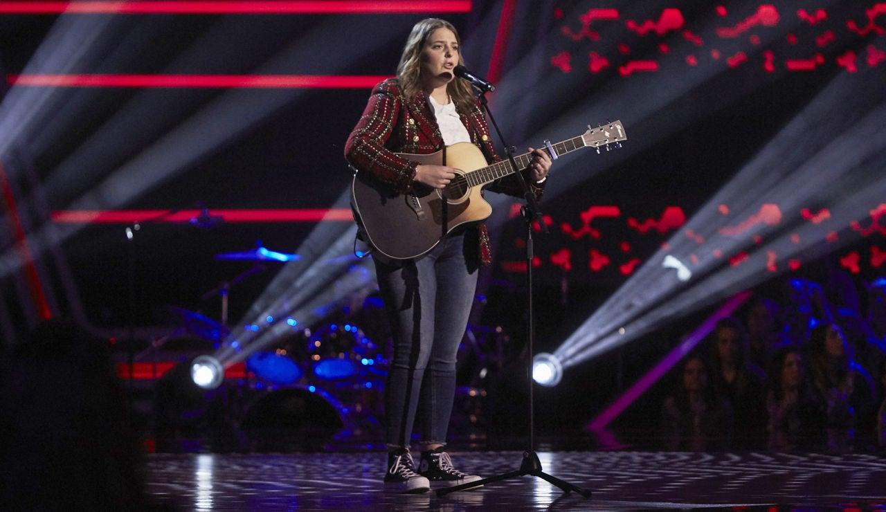 Sabela Trigo se atreve con 'Hay algo en mí' de Miriam Rodríguez en las Audiciones a ciegas de 'La Voz'