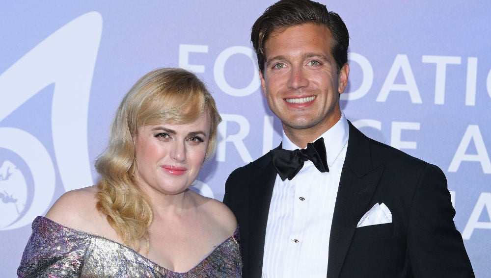 Rebel Wilson y su novio Jacob Busch