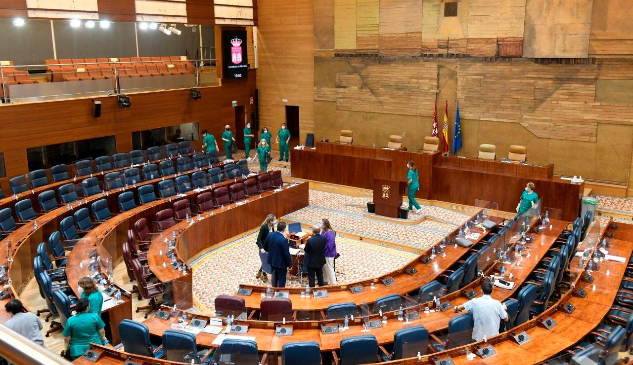 La Asamblea de Madrid, en un receso