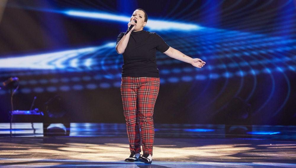 Moneiba Hidalgo, poderío en el escenario con 'I put a spell on you' en las Audiciones a ciegas de 'La Voz'