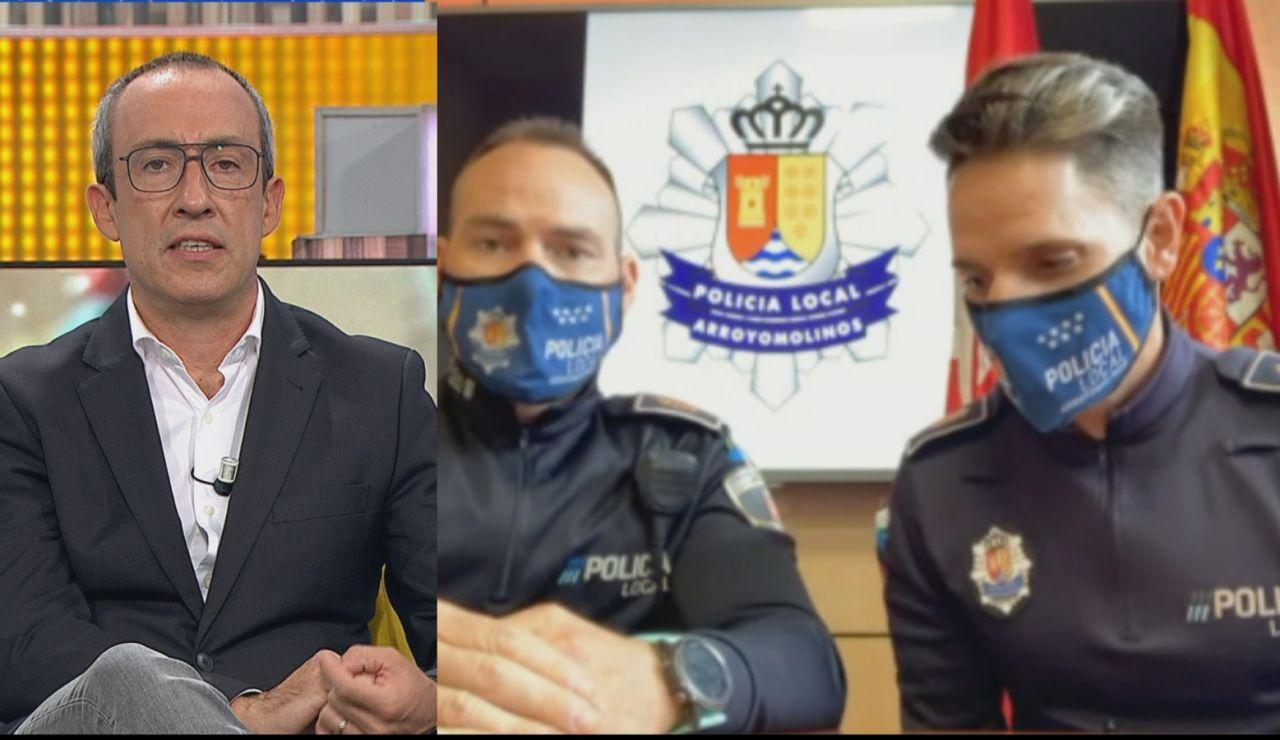 Policías salvan a un bebé