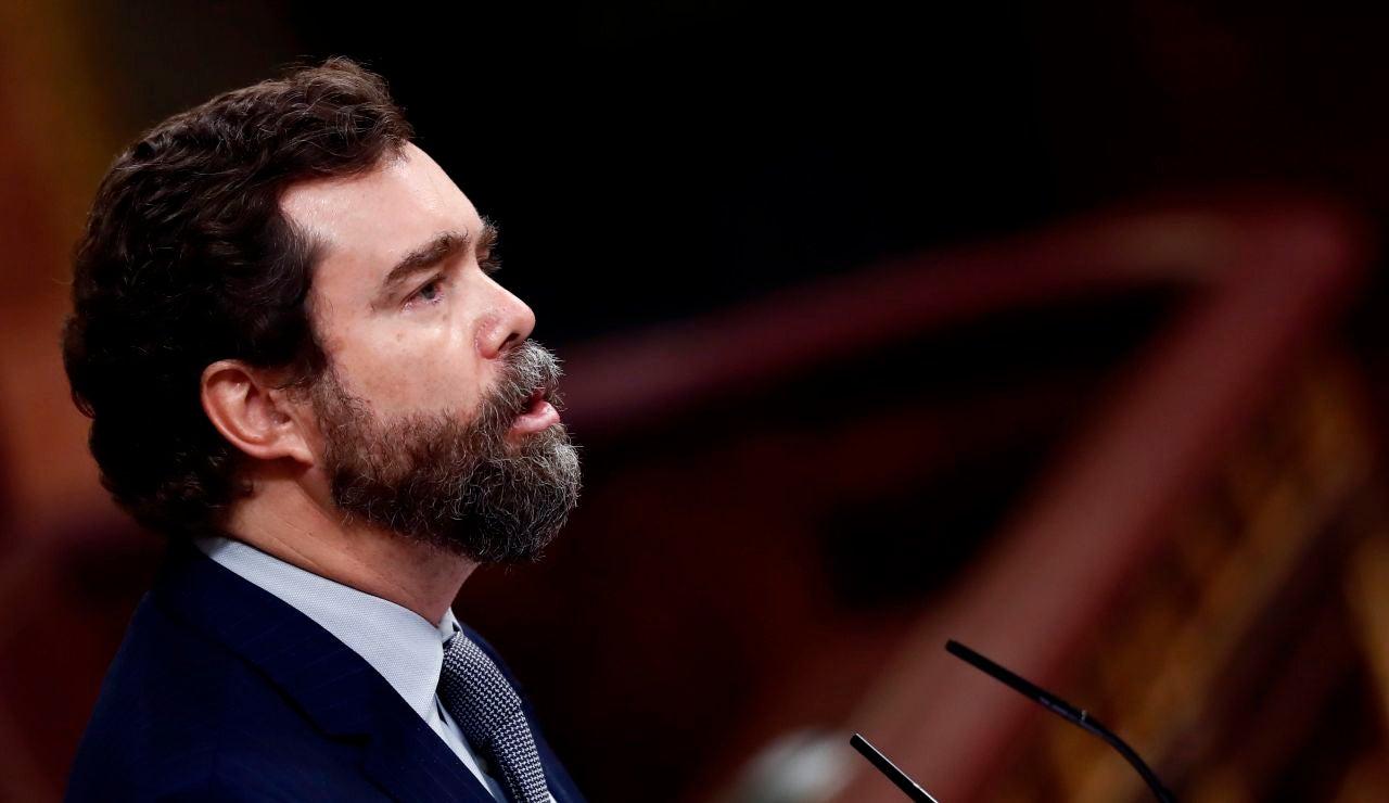 El portavoz de Vox, Iván Espinosa de los Monteros