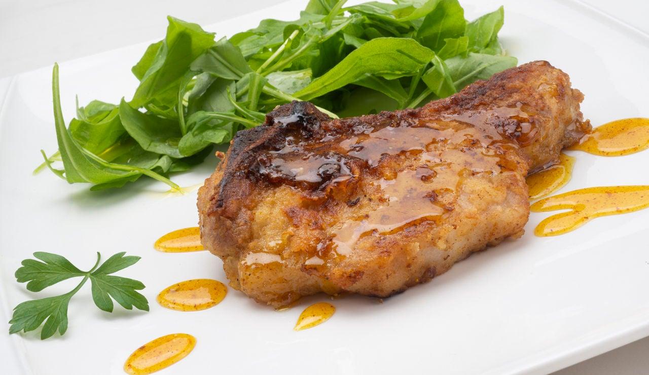 Receta de chuletas de cerdo con miel, de Karlos Arguiñano