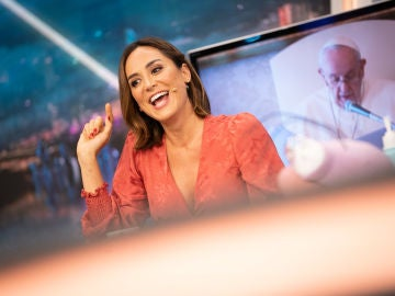 Una experiencia religiosa: Tamara Falcó revela en 'El Hormiguero 3.0' cómo llegó a conocer al Papa Francisco