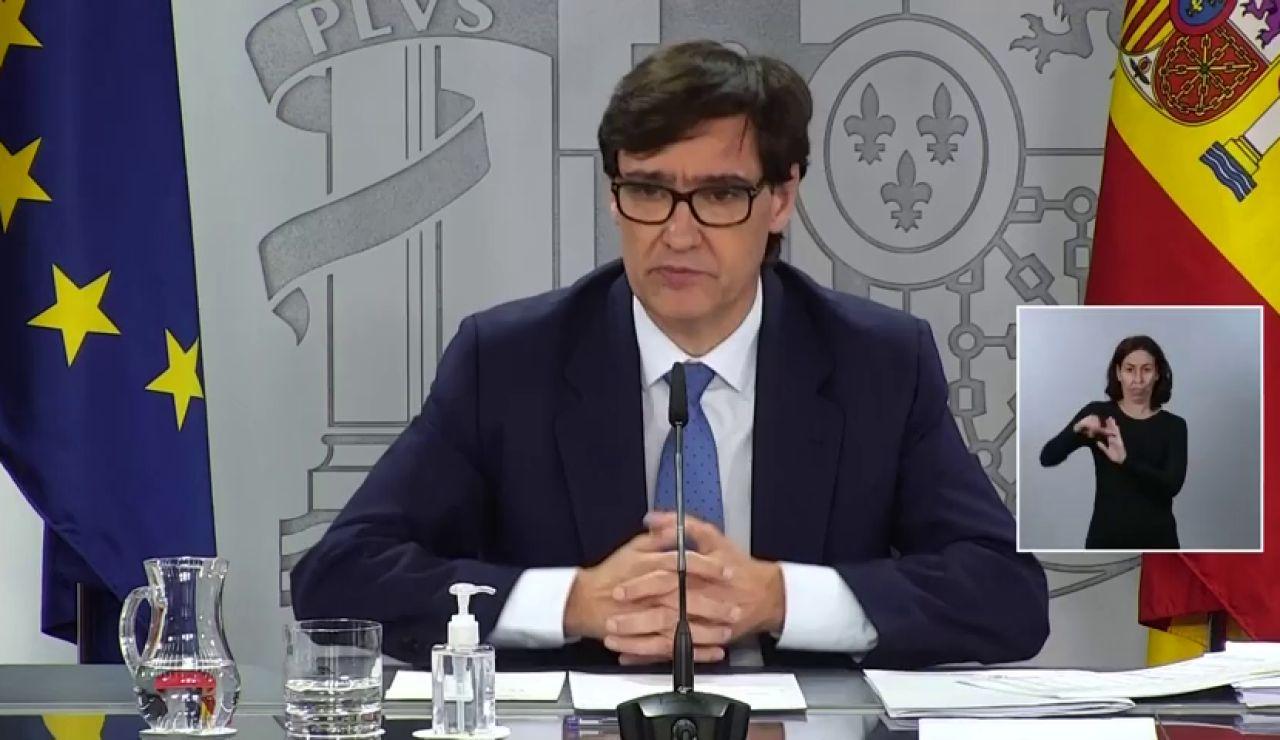 """Salvador Illa sobre el aplazamiento del toque de queda: """"No se ha apreciado consenso amplio"""""""