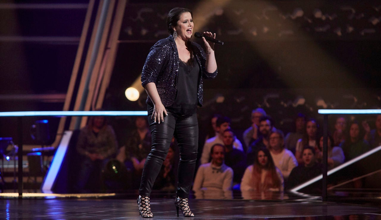 Aixa Romay canta 'A natural woman' en los Asaltos de 'La Voz'
