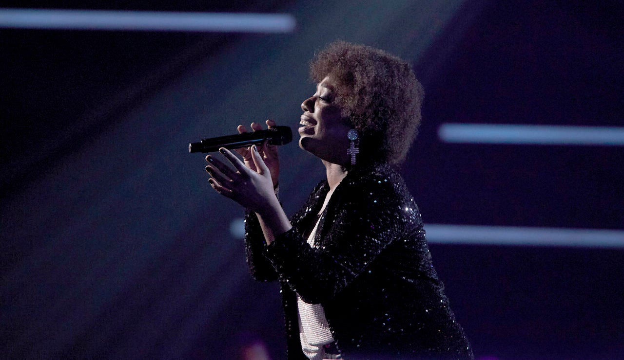 Yaneisy Martínez canta 'Wild horses' en los Asaltos de 'La Voz'