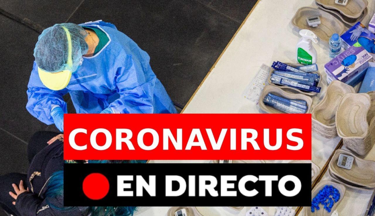 Coronavirus en directo hoy: Últimas noticias del estado de alarma en Madrid y confinamientos en España