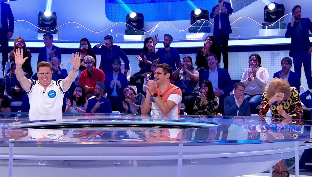 El desternillante momento protagonizado por Jorge Cadaval durante su propia presentación en 'Pasapalabra'