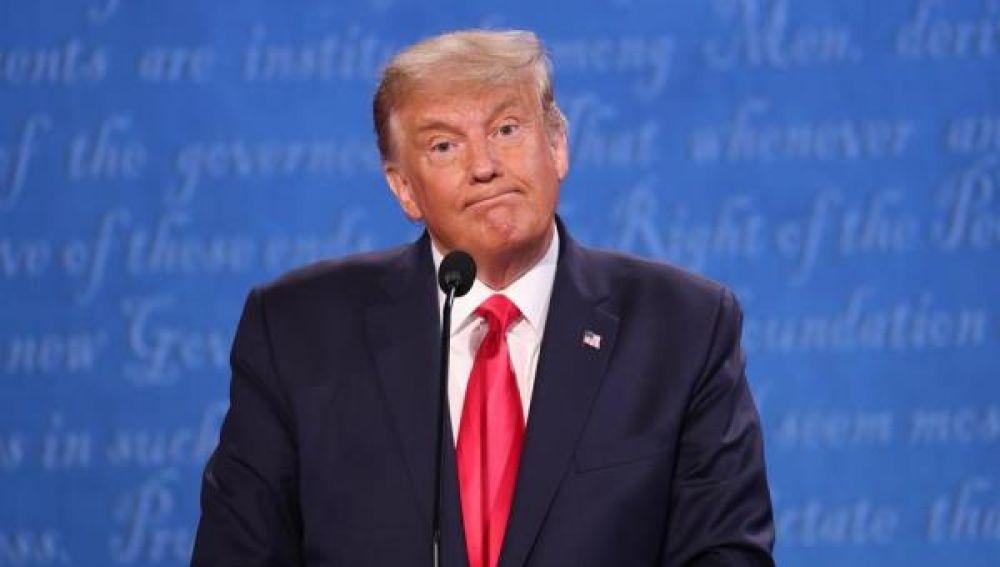 Elecciones EEUU 2020: Donald Trump en el segundo debate electoral de EEUU