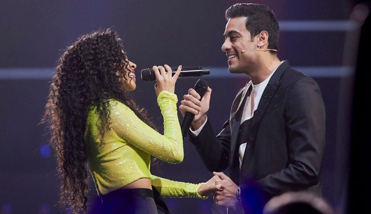 Carlos Rivera y Daniela Pobega emocionan con 'Siento un nuevo amor en mí', la canción que interpretaban como Simba y Nala en 'El Rey León'