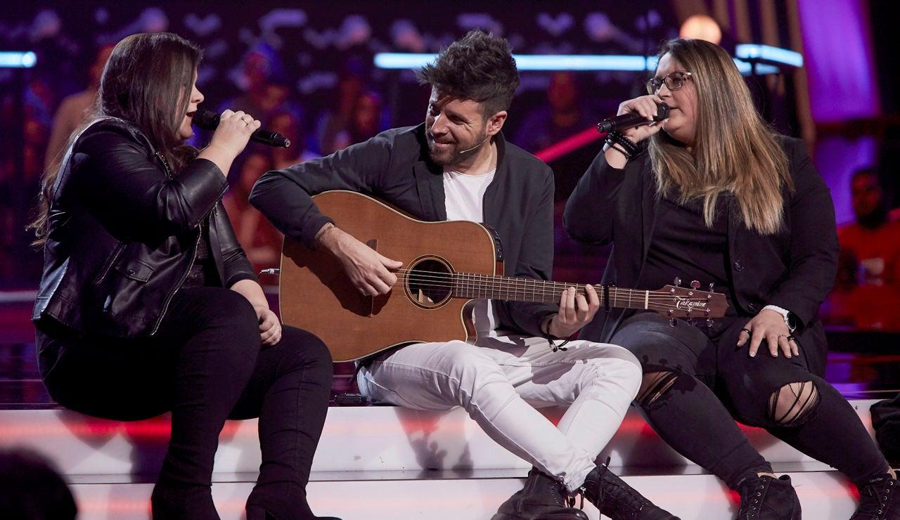 Rocío Acebedo y Carmen Saborido cumplen su sueño en 'La Voz' de poder cantar juntas