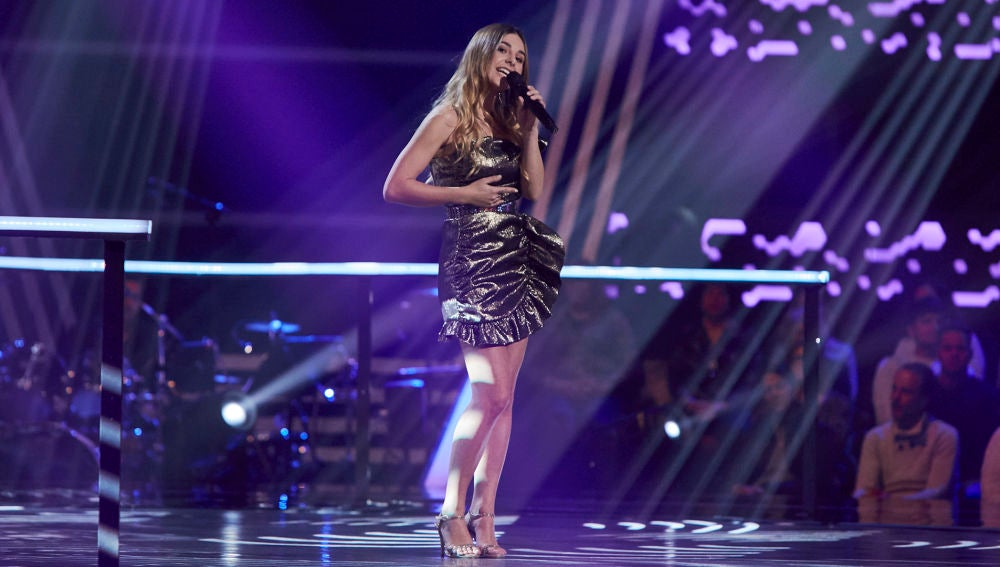 Chiara Rossi canta 'You know I'm no good' en los Asaltos de 'La Voz'