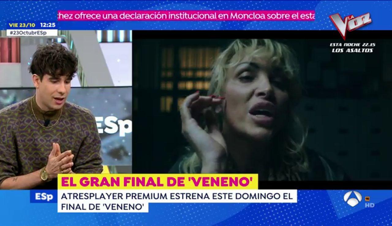 """'Los Javis' hablan del último capítulo de la 'Veneno': """"Es el mejor de la serie. Un homenaje perfecto para Cristina"""""""
