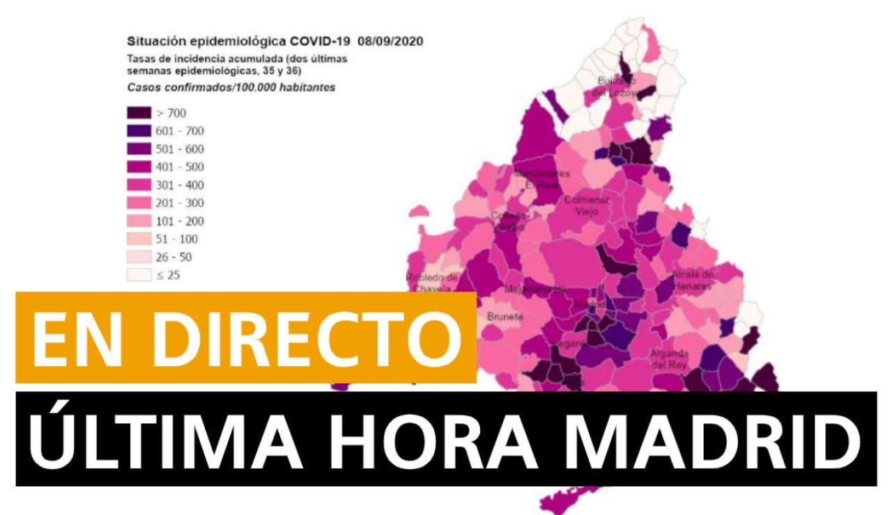 Madrid hoy: Nuevas zonas confinadas, restricciones y fin del estado de alarma, en directo