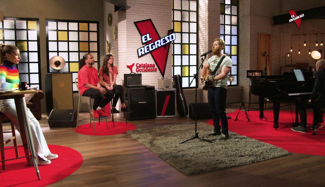 Guillem Gené pone el ritmo con 'Believe' en 'El Regreso'