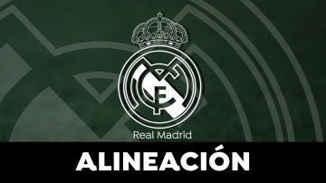 Alineación del Real Madrid en el Clásico de la Liga Santander hoy