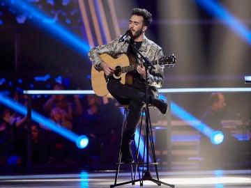 Iván Feria canta 'Por fin' en los Asaltos de 'La Voz'