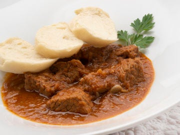 Receta de goulash checo