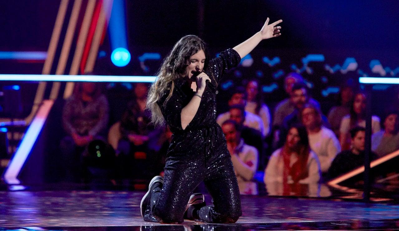 Carlota Palacios canta 'Creep' en los Asaltos de 'La Voz'