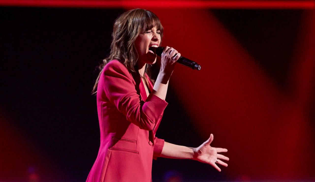 Dolores Berg canta 'Piensa en mí' en los Asaltos de 'La Voz'