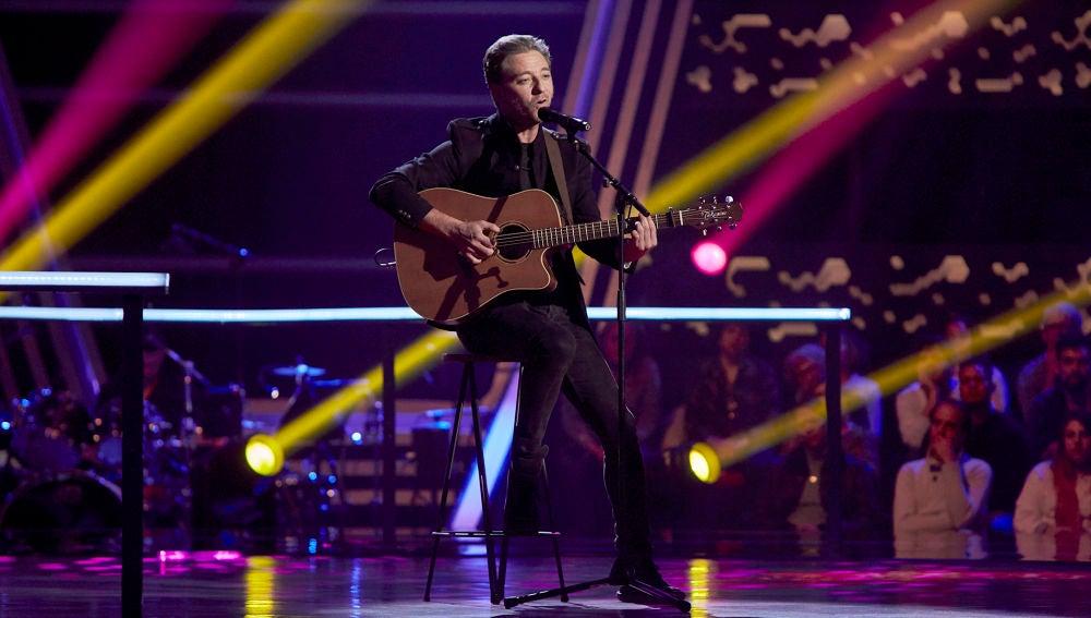 Marcos Andrés canta 'La canción más hermosa del mundo' en los Asaltos de 'La Voz'