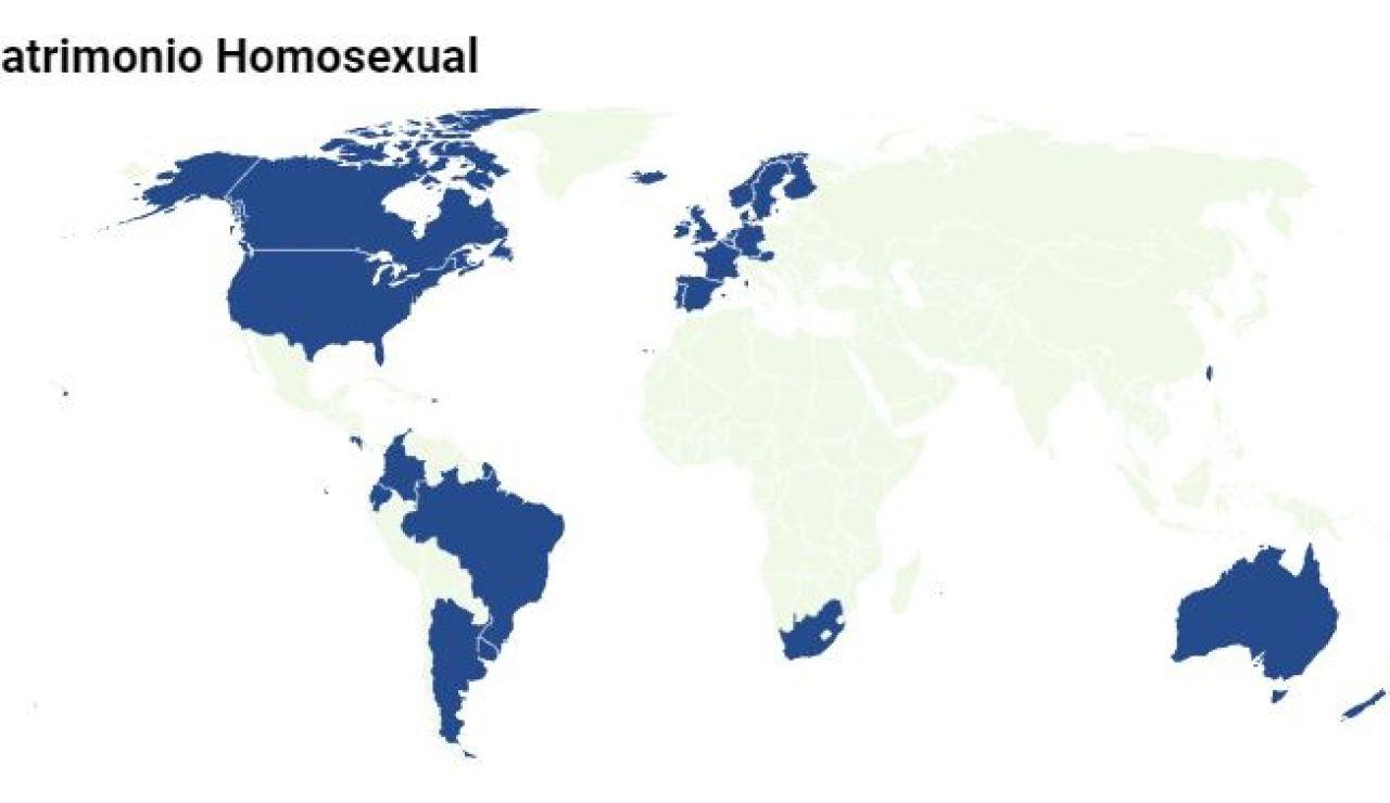 El matrimonio homosexual en el mundo