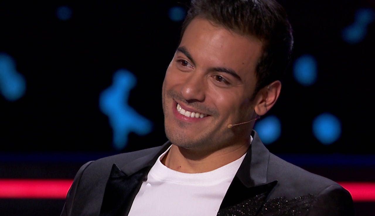 Un emocionado Carlos Rivera se despide de Daniela Pobega, 'su Nala' en El Rey León, en los Asaltos de 'La Voz'