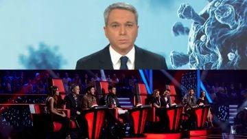 Antena 3 Noticias 2 y 'La Voz'