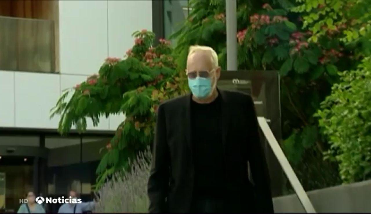 Mainat y su mujer coinciden por primera vez en los juzgados tras la acusación de asesinato del productor