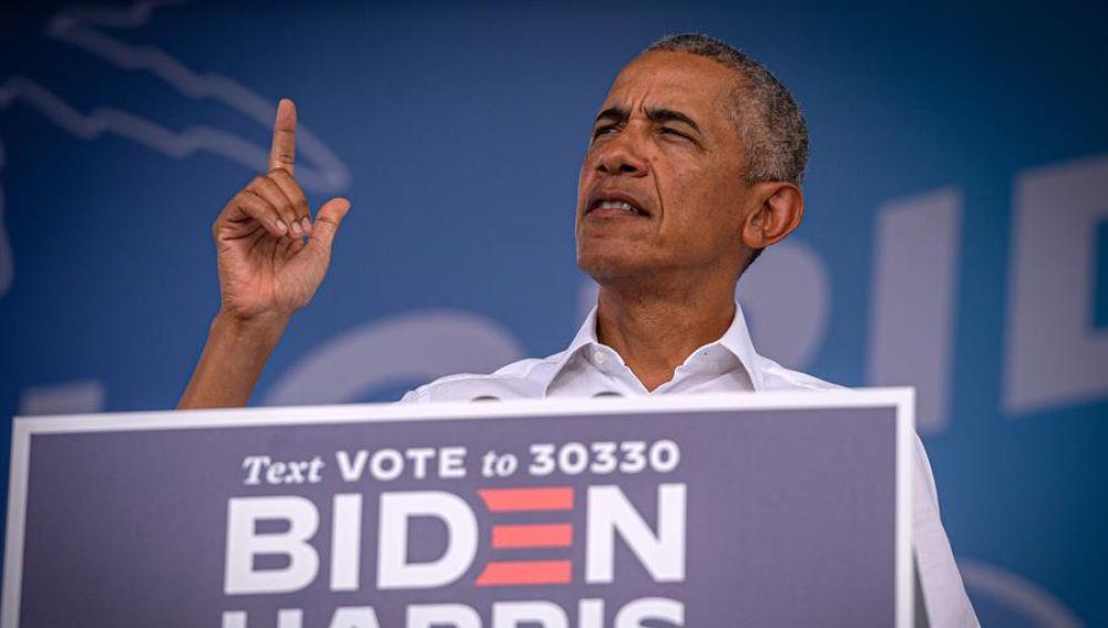"""Obama entra de lleno en la campaña de Joe Biden en las elecciones de EEUU: """"Trump ha metido la pata por completo"""""""