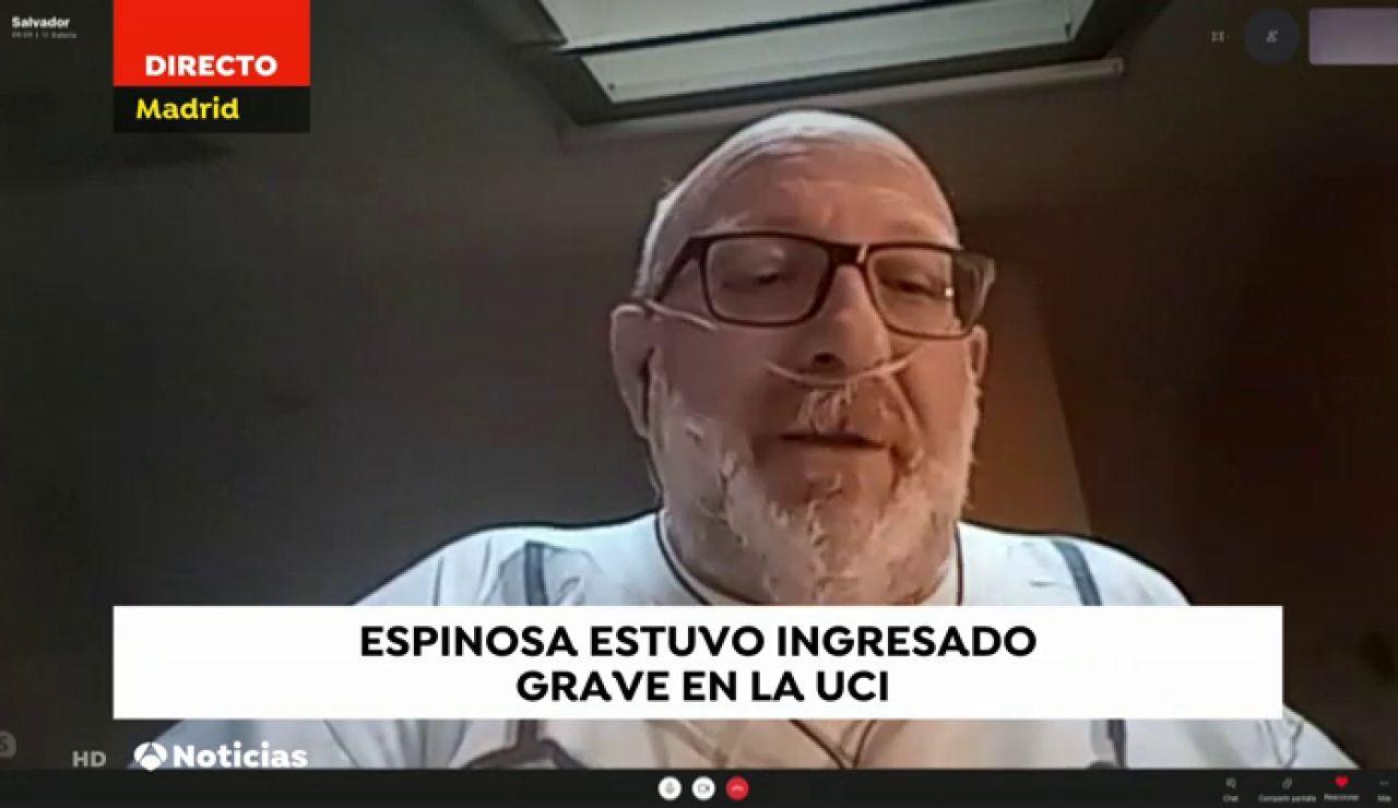 Salvador Espinosa, médico del Summa
