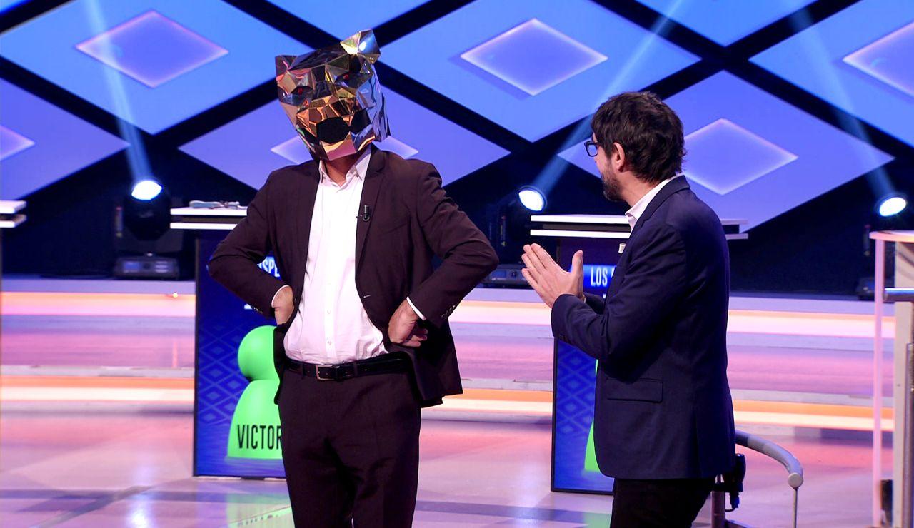 Las extrañas visiones de Juanra Bonet con 'Mask singer' en el plató de '¡Boom!': ¿Quién está detrás de la máscara?