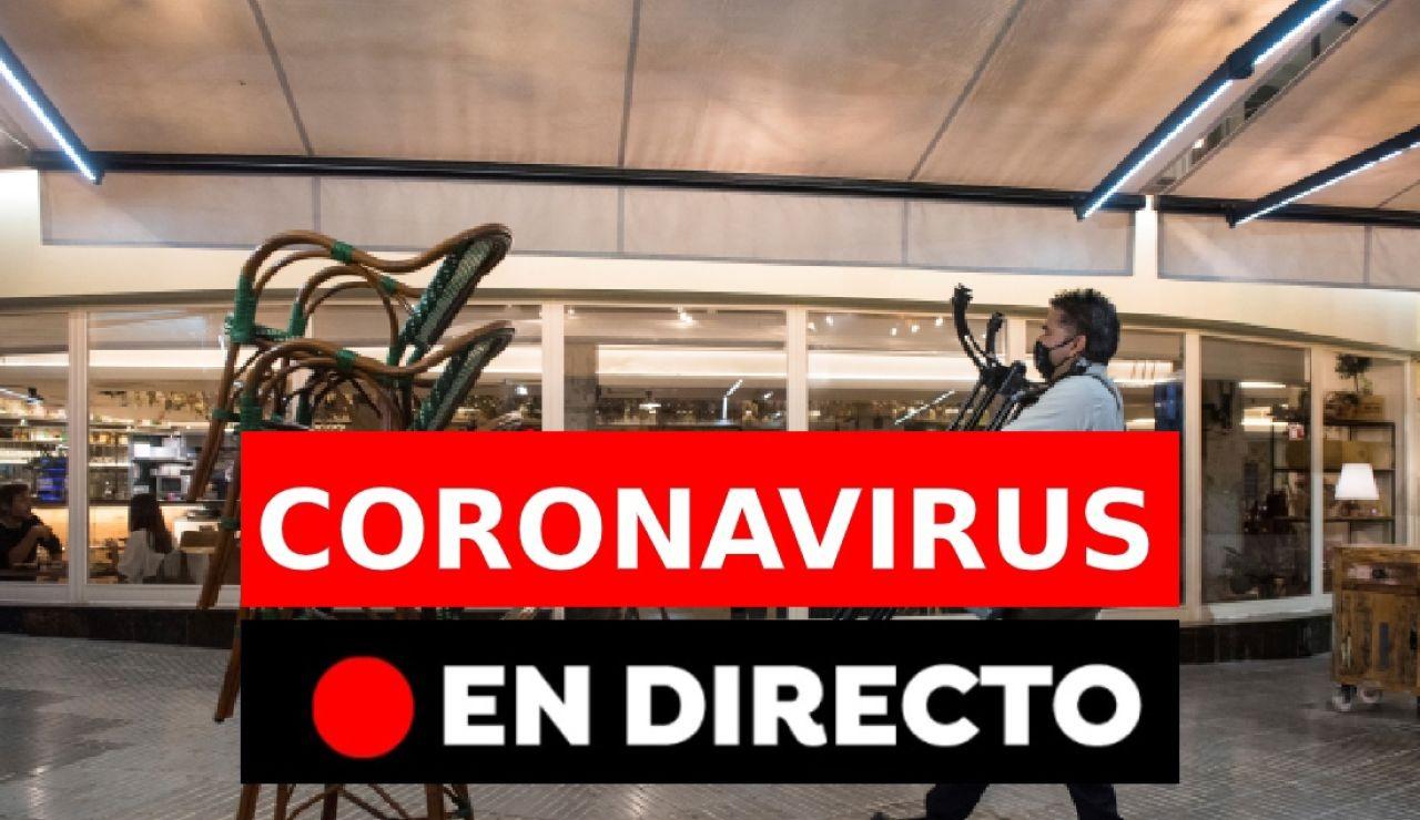 Coronavirus hoy: Estado de alarma y toque de queda en España, en directo