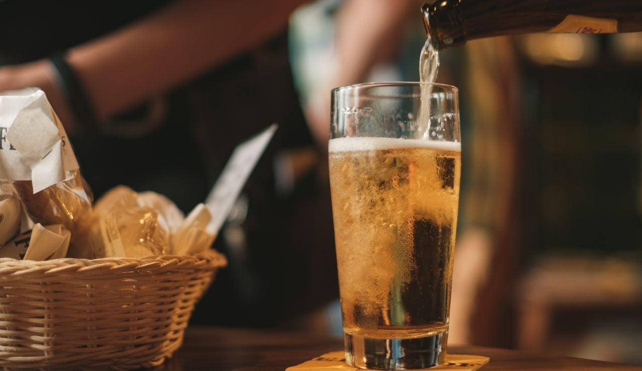 Imagen de archivo de cerveza