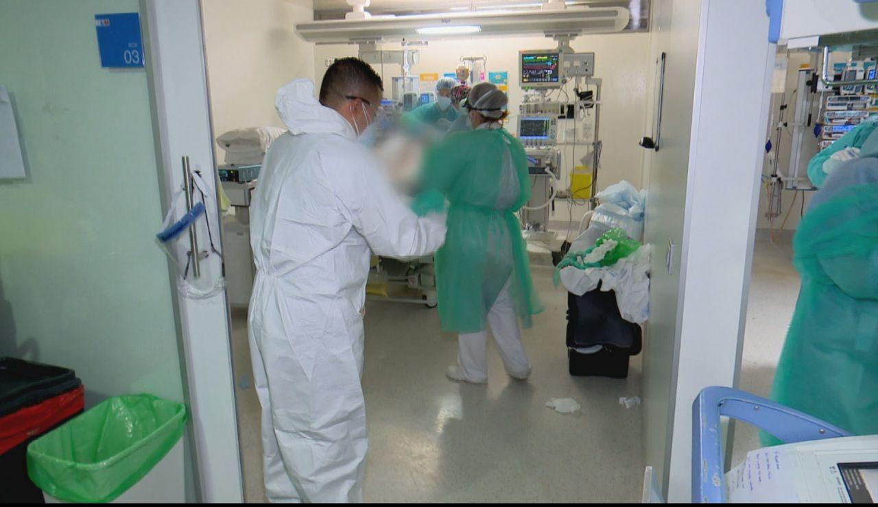 Situación de la UCI en el Hospital de Móstoles