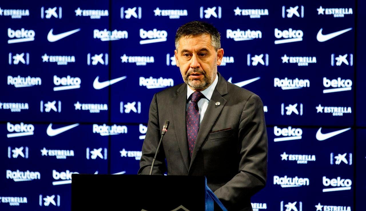 Josep Maria Bartomeu, presidente del Barcelona