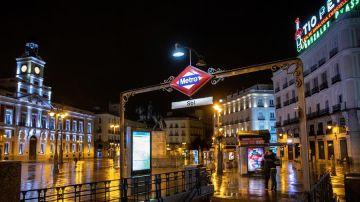 Estación de metro de Sol, en Madrid