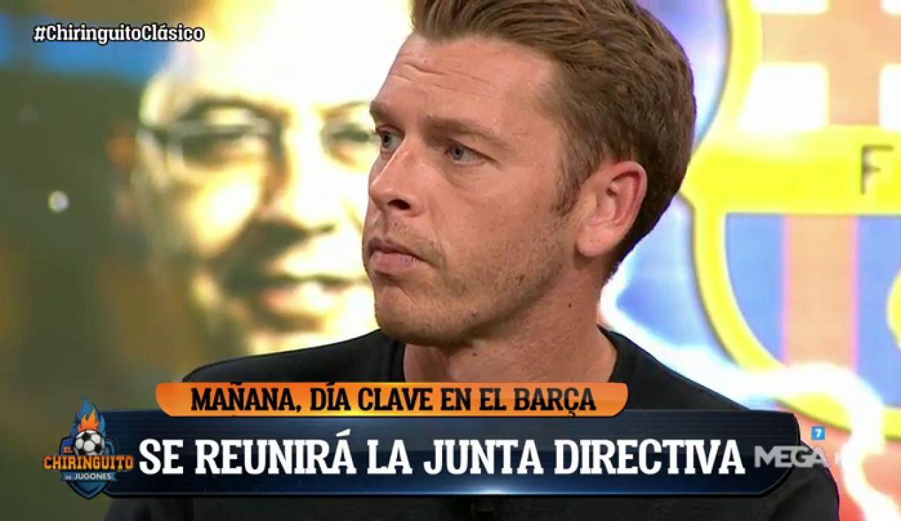 "Jota Jordi: ""BARTOMEU DIMITIRÁ HOY"""