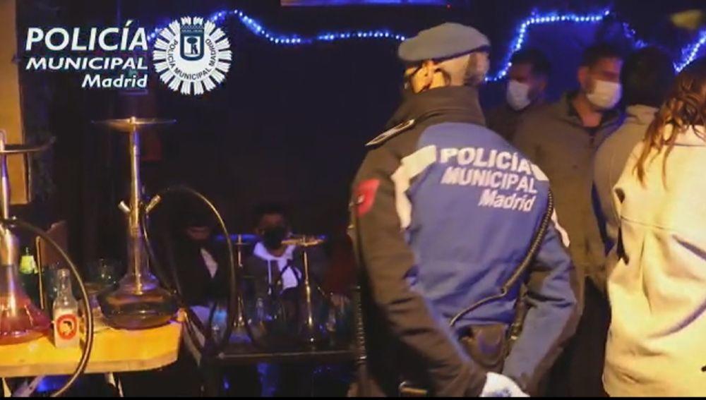 Fiestas ilegales en Madrid