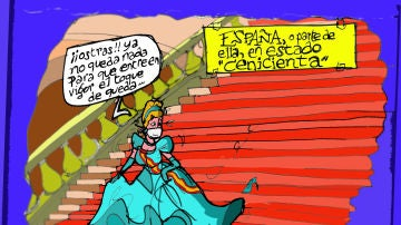 El toque de queda en España, en la viñeta gráfica de Alfredo Boto-Hervás
