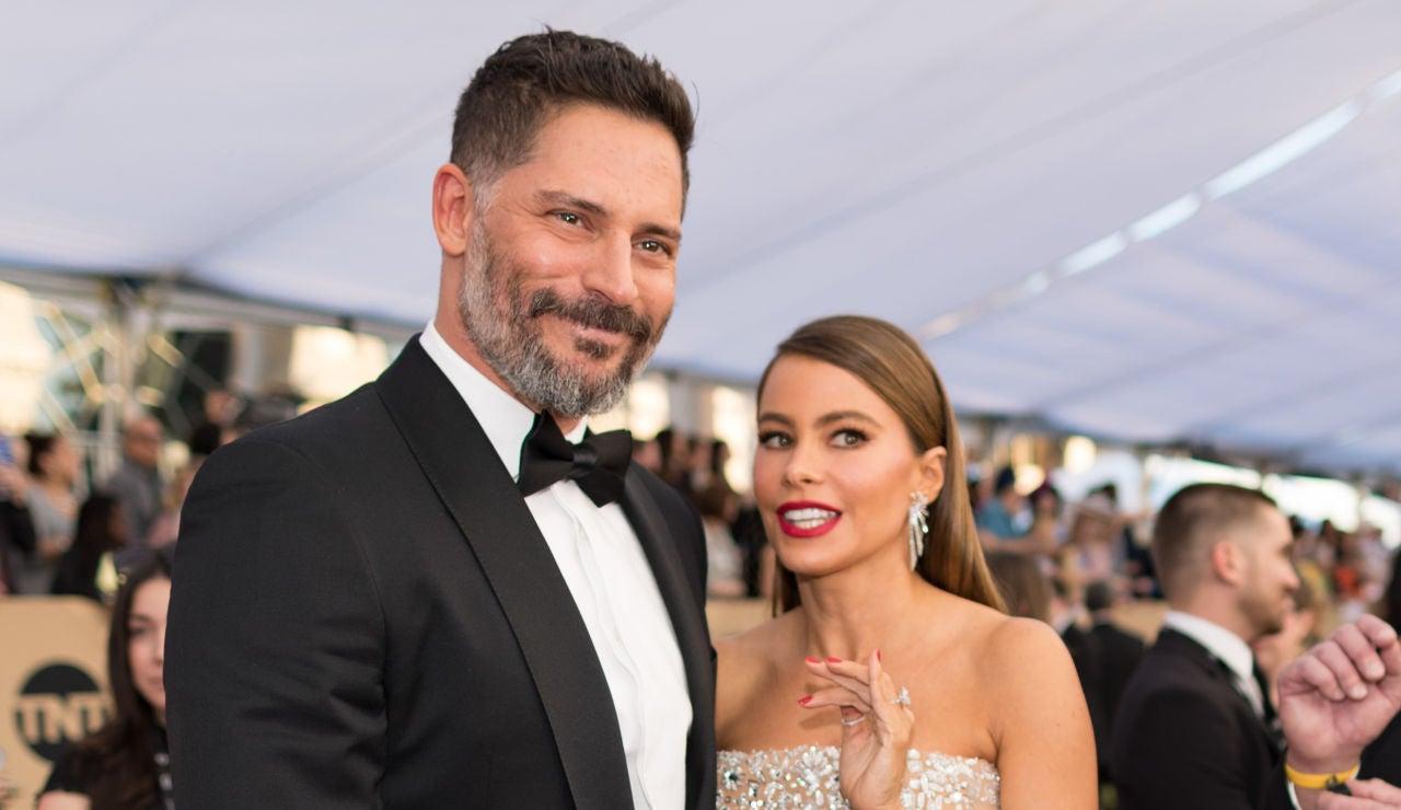 Sofía Vergara junto a su marido Joe Manganiello