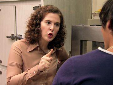 Virginia planta cara de una vez a Fabián y le da una excelente lección