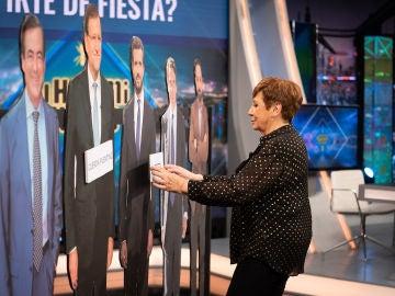Celia Villalobos, divertida y sincera, se moja en 'El Hormiguero 3.0': ¿Pablo Iglesias, Santiago Abascal o José Bono?