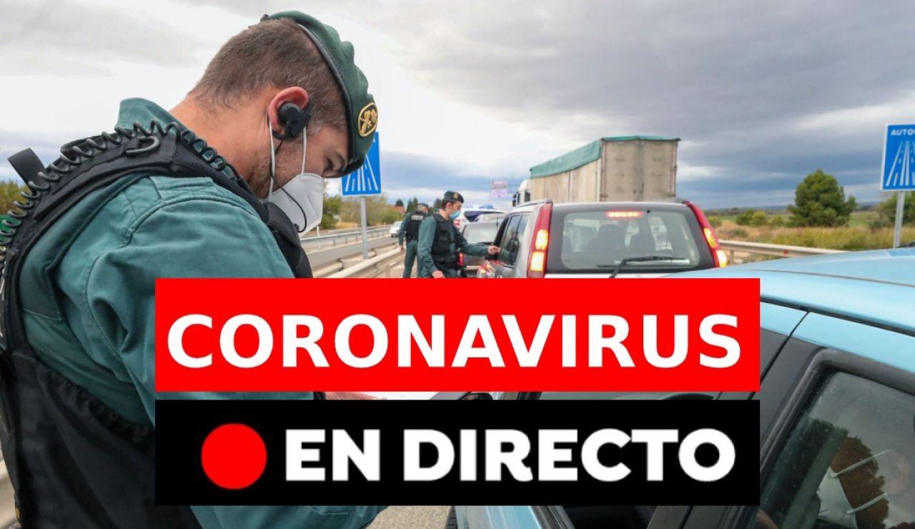 Coronavirus España hoy: Última hora del estado de alarma, toque de queda y últimas noticias, en directo