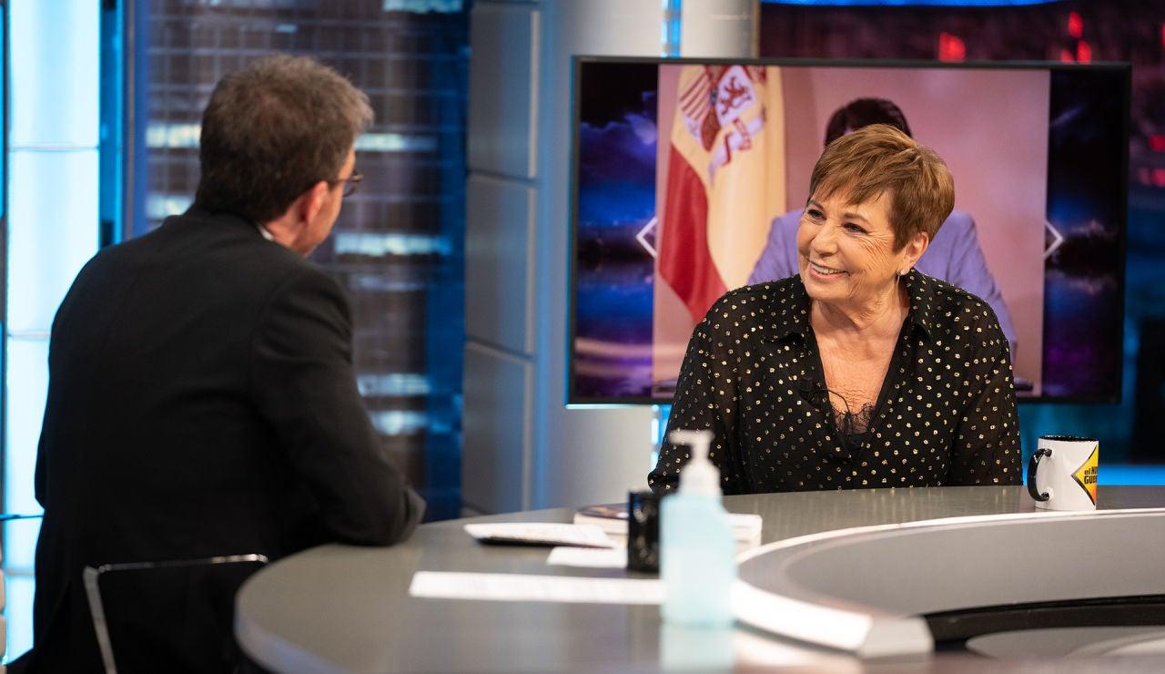 """Felipe González y Mariano Rajoy, así habla Celia Villalobos en 'El Hormiguero 3.0' de los """"dos mejores presidentes de la democracia"""""""