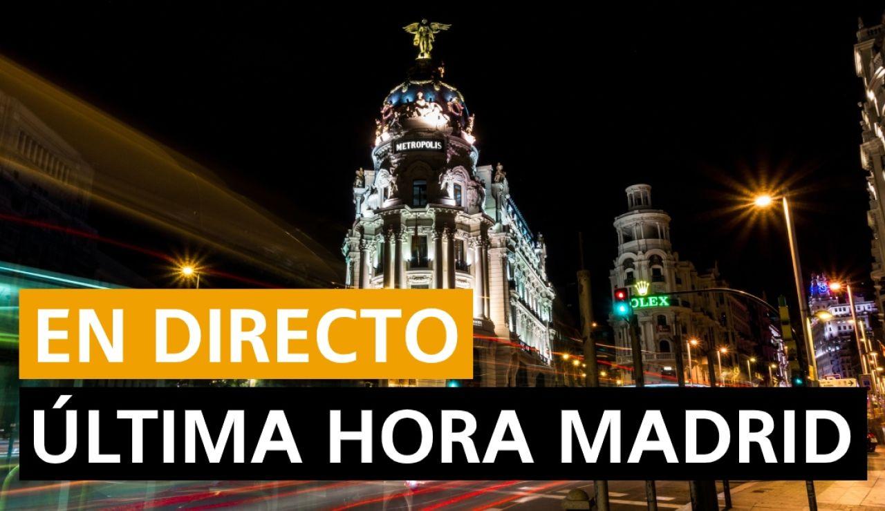 Coronavirus Madrid: Áreas confinadas, última hora del estado de alarma y toque de queda, en directo