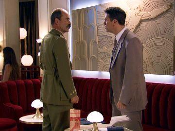 Beltrán se siente traicionado por Abel y se enfrenta a él con duros reproches