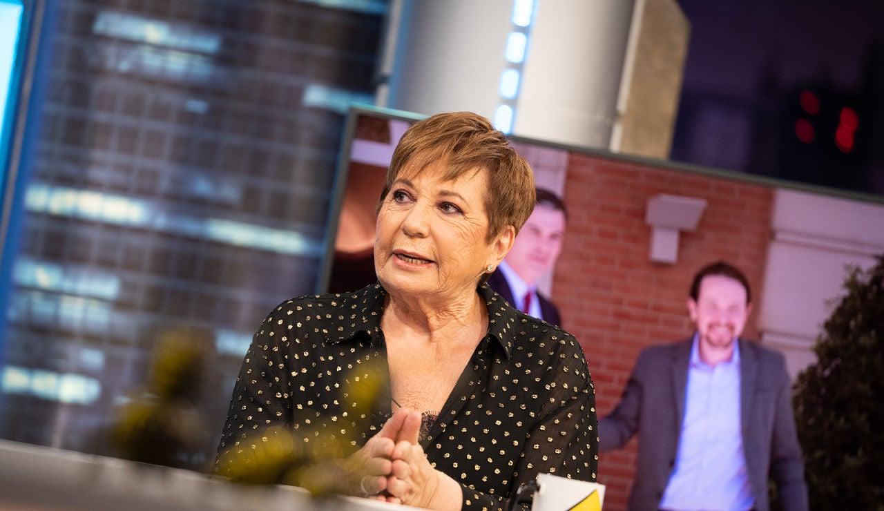 """Celia Villalobos relata en 'El Hormiguero 3.0' cómo se libró de ser asesinada por ETA: """"Pero mataron a mi amigo Martín Carpena"""""""