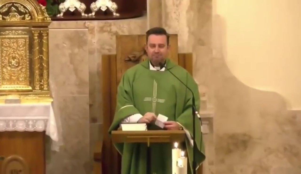 """El reproche de Emilio Monte, cura de Valdepeñas, a los parroquianos: """"Faltan 600.000 euros"""""""
